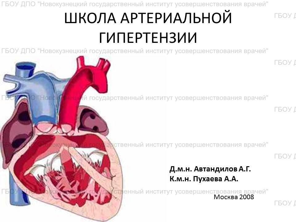 Школа артериальной гипертензии — ГБУЗ РТ